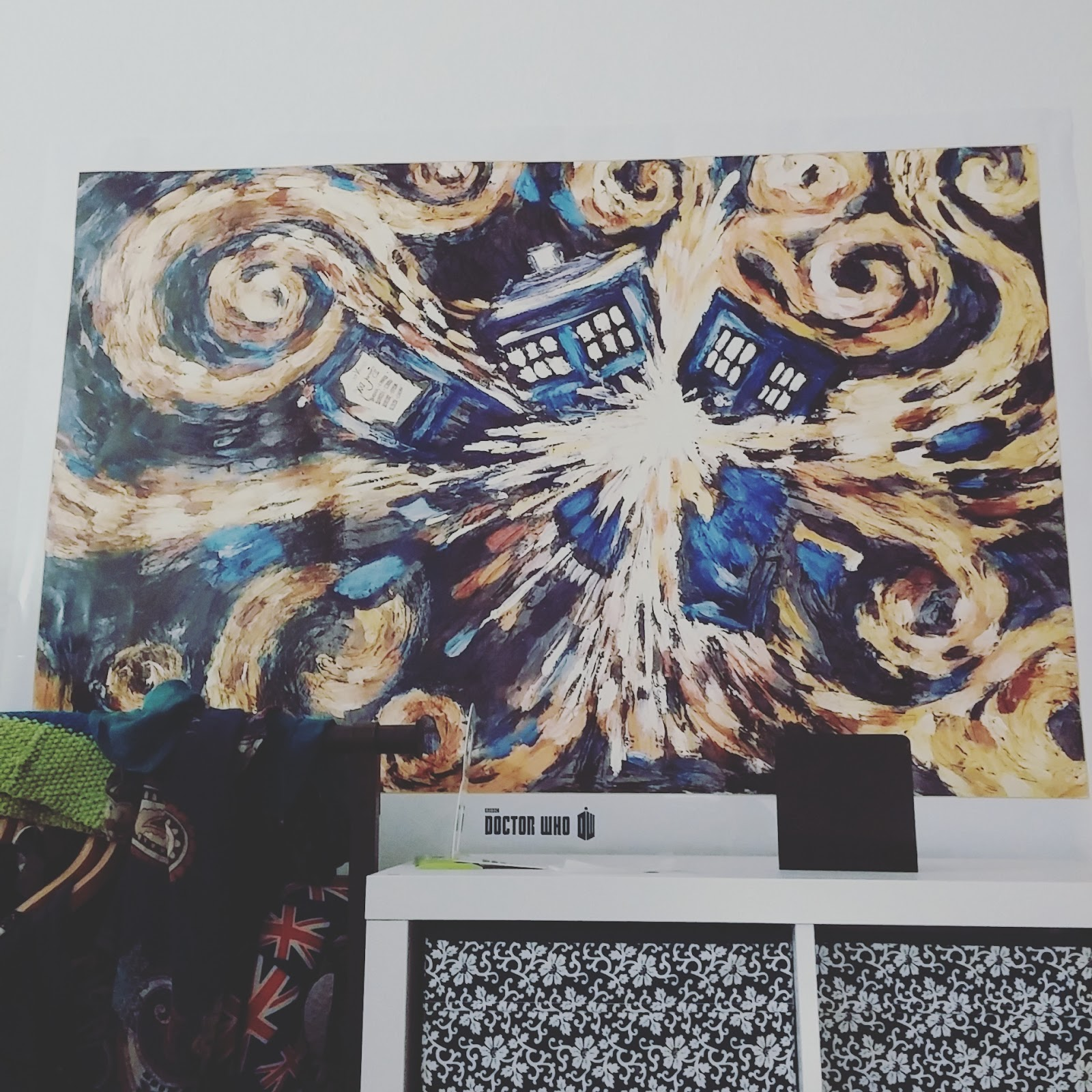 Geek-Stöckchen Doctor Who Poster