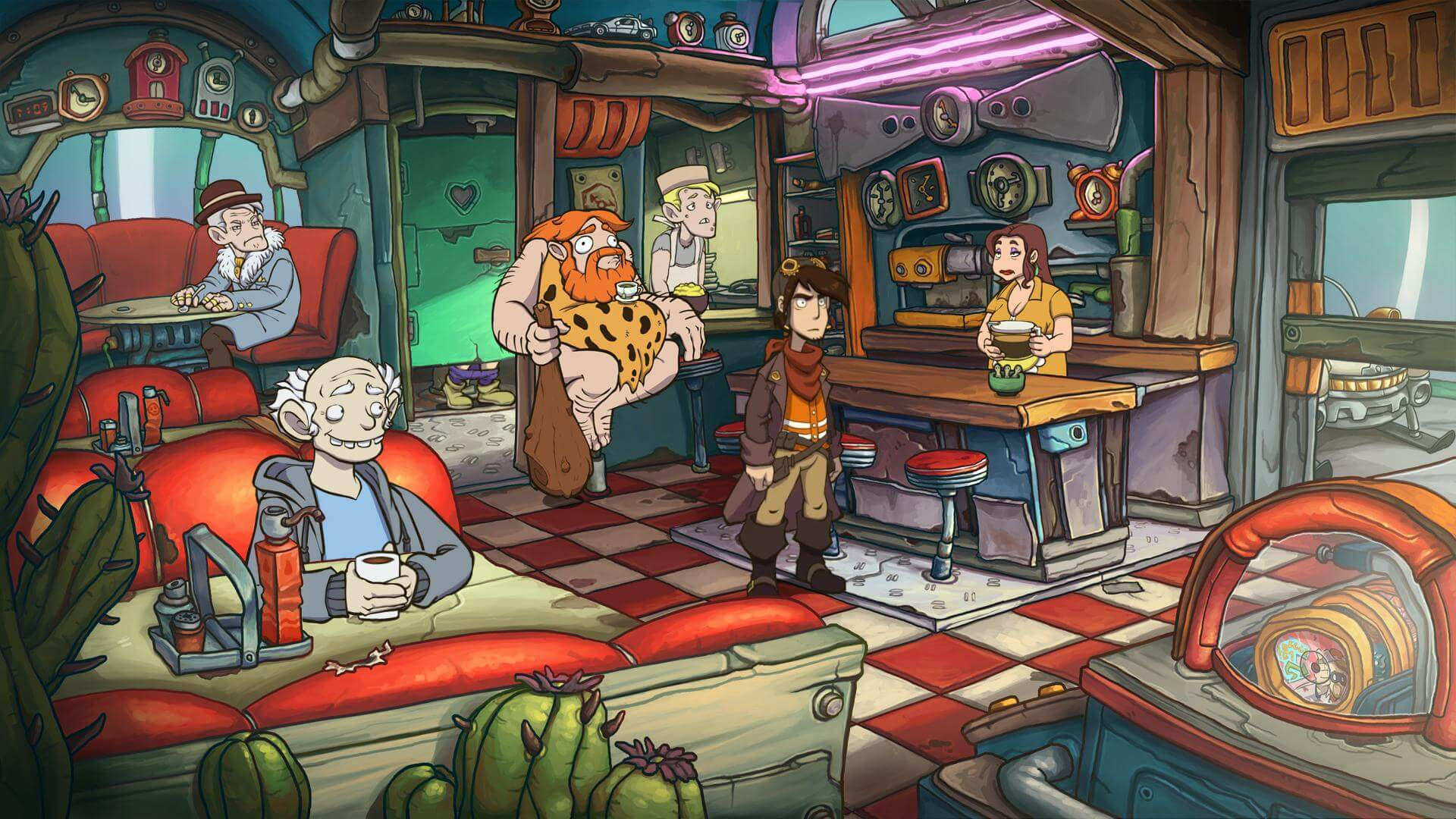 Deponia Doomsday Paradox City