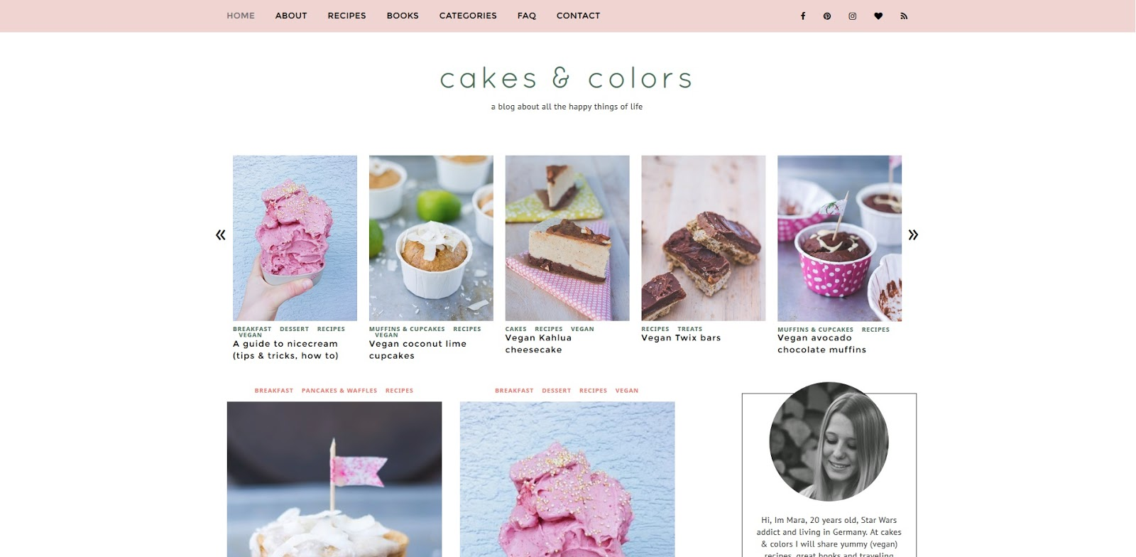 cakes & colors Blogempfehlung