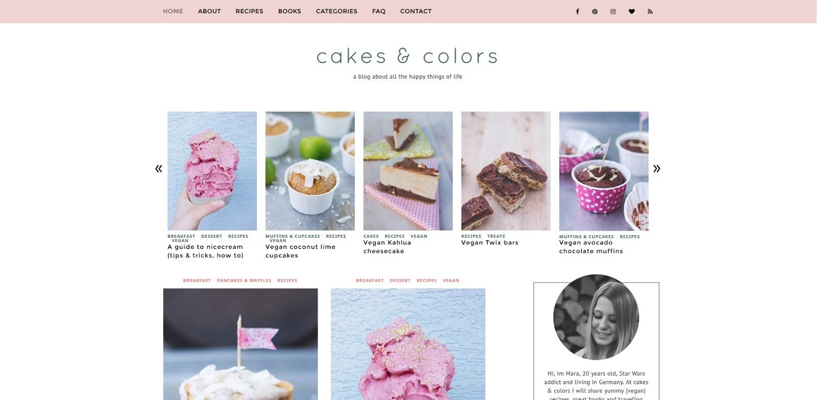 cakes & colors Blogempfehlung