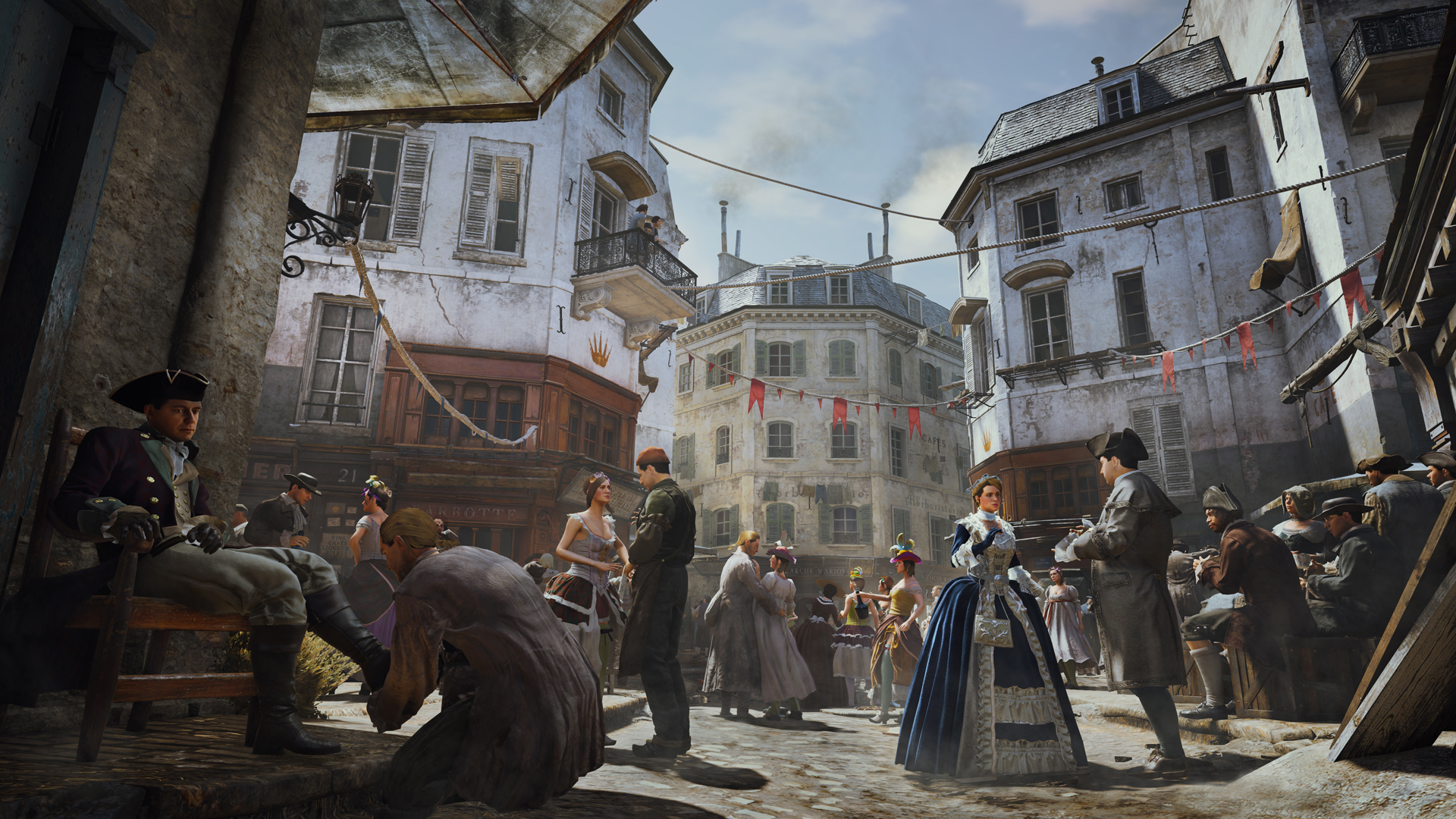 Assassin's Creed Unity Paris Straße