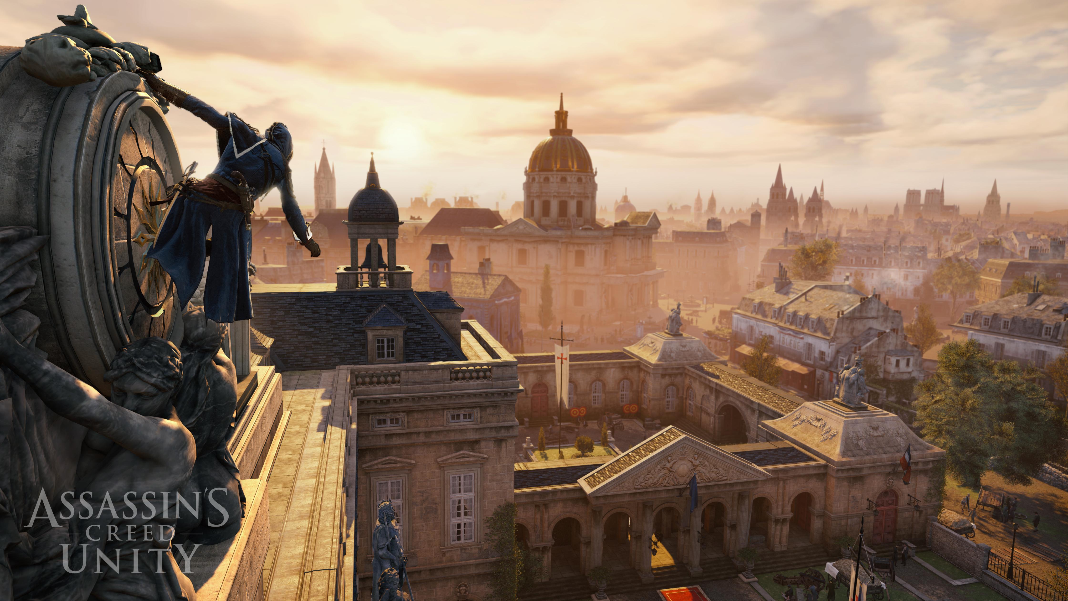 Assassin's Creed Unity Paris Dächer