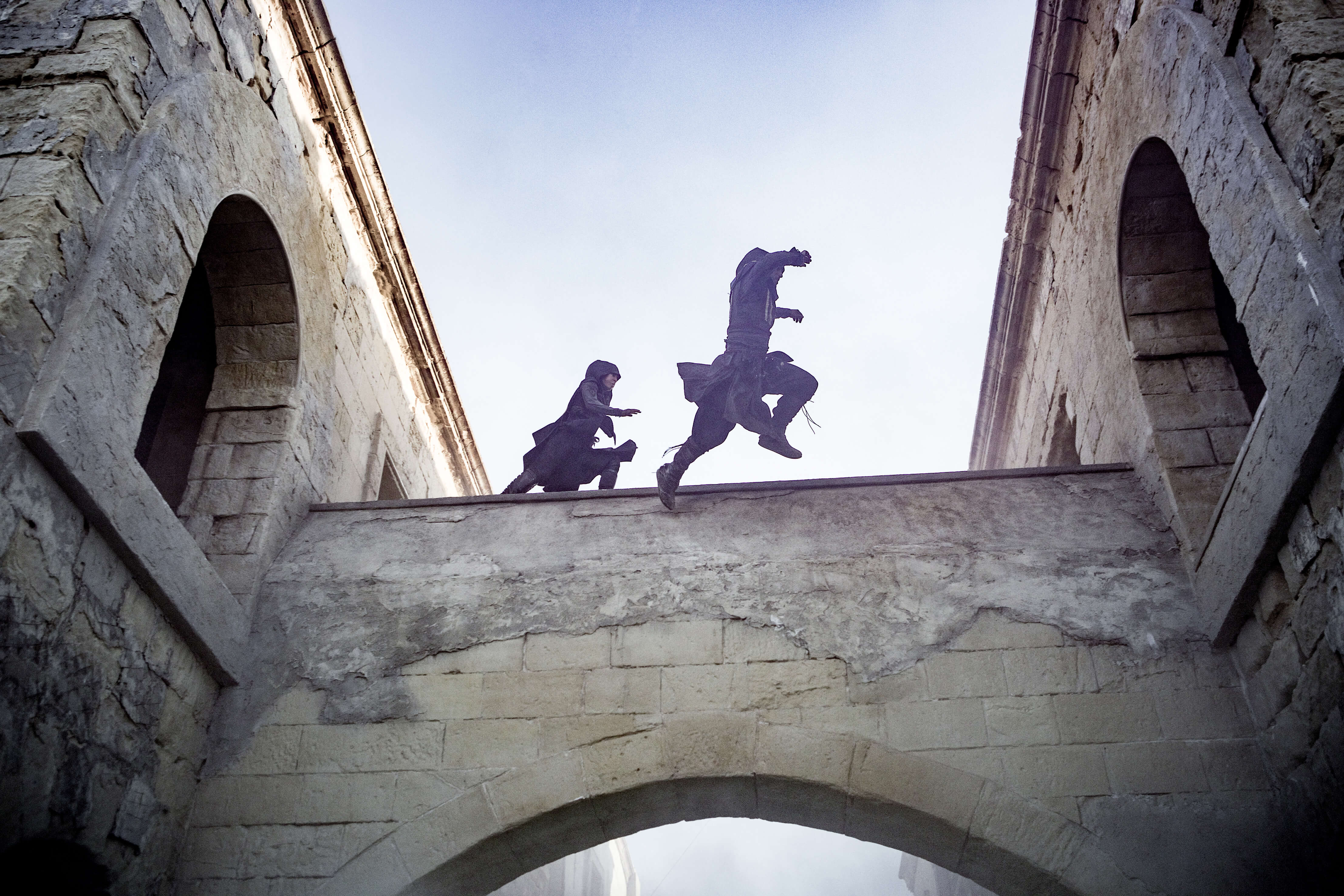 Assassin's Creed Film Verfolgungsjagd