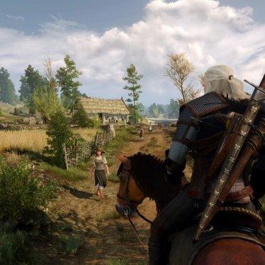 The Witcher 3 Geralt
