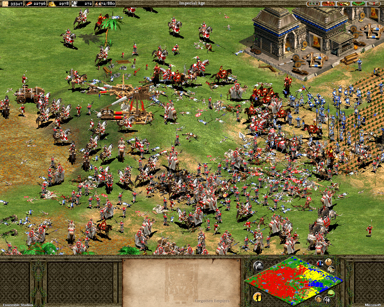 Age of Empires 2 Schlacht
