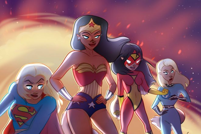 Superheldinnen Supergirl