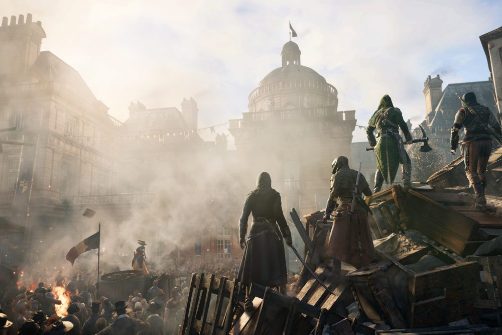 Assassin's Creed Unity Willkommen in der Moderne