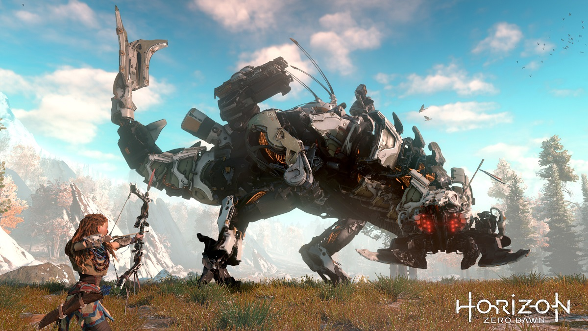 Horizon: Zero Dawn Thunderjaw