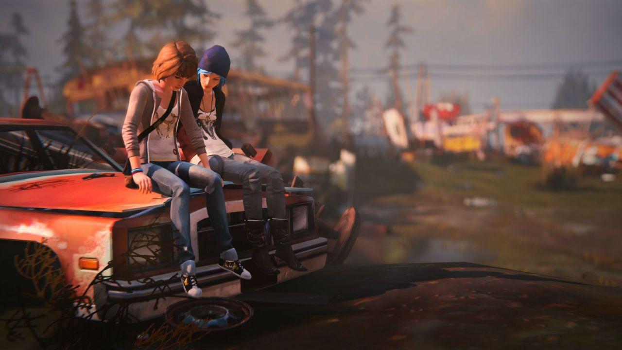 Life is Strange Max und Chloe Truck Herzenswelten