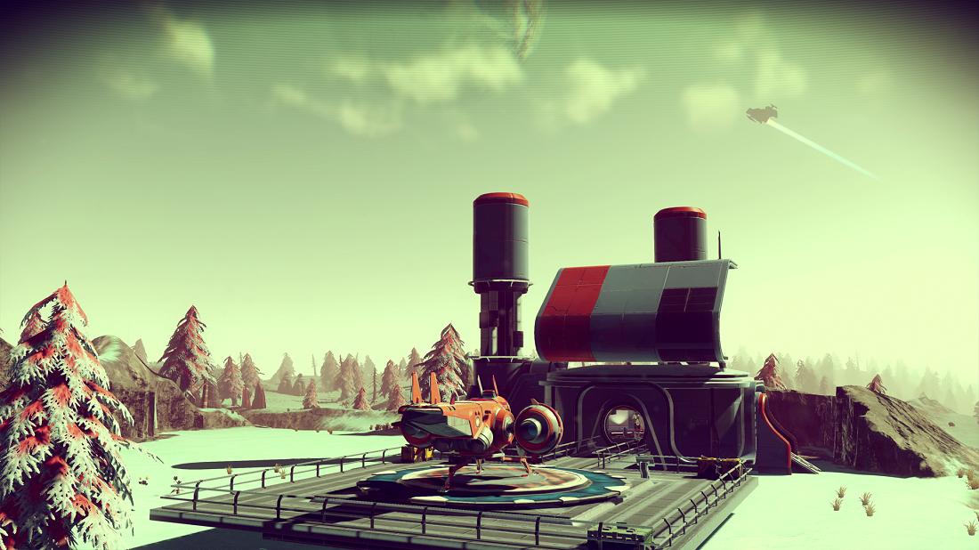 Zuhause in Videospielen No Man's Sky