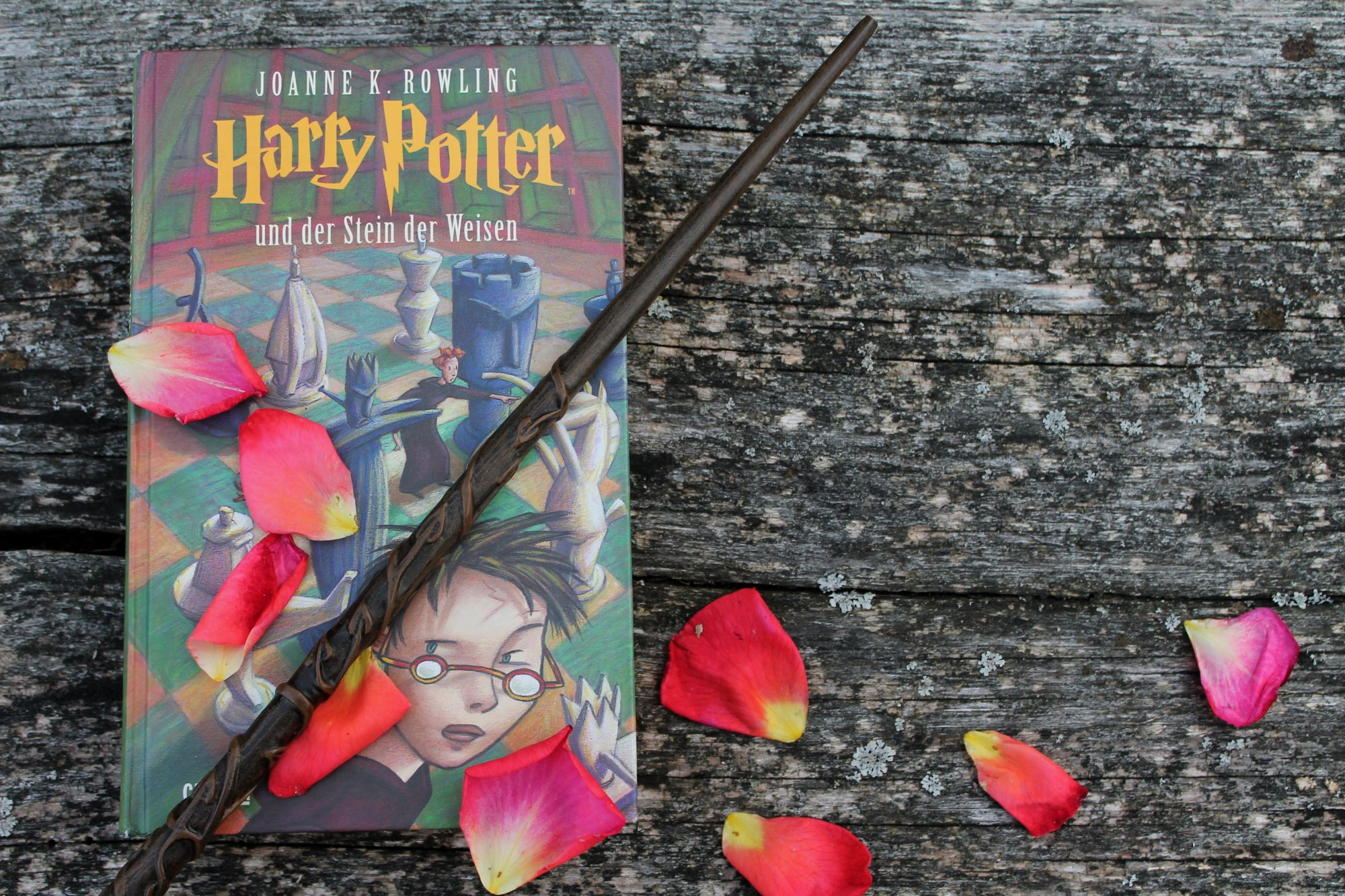 Herzenswelten Harry Potter Stein der Weisen Blütenblätter