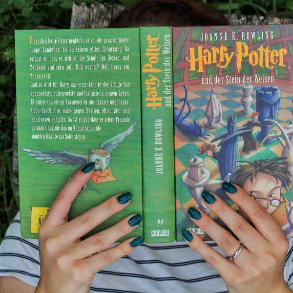 Herzenswelten Harry Potter Stein der Weisen Social Media