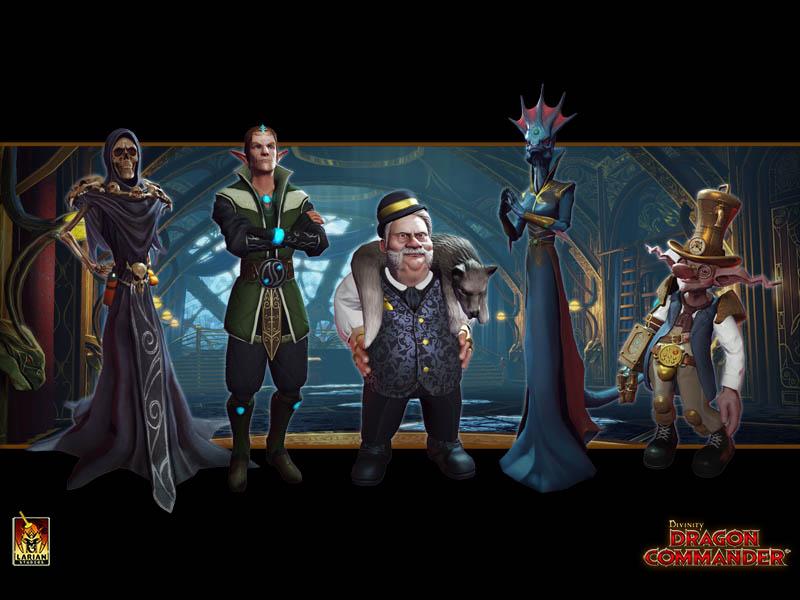 Divinity: Dragon Commander Berater