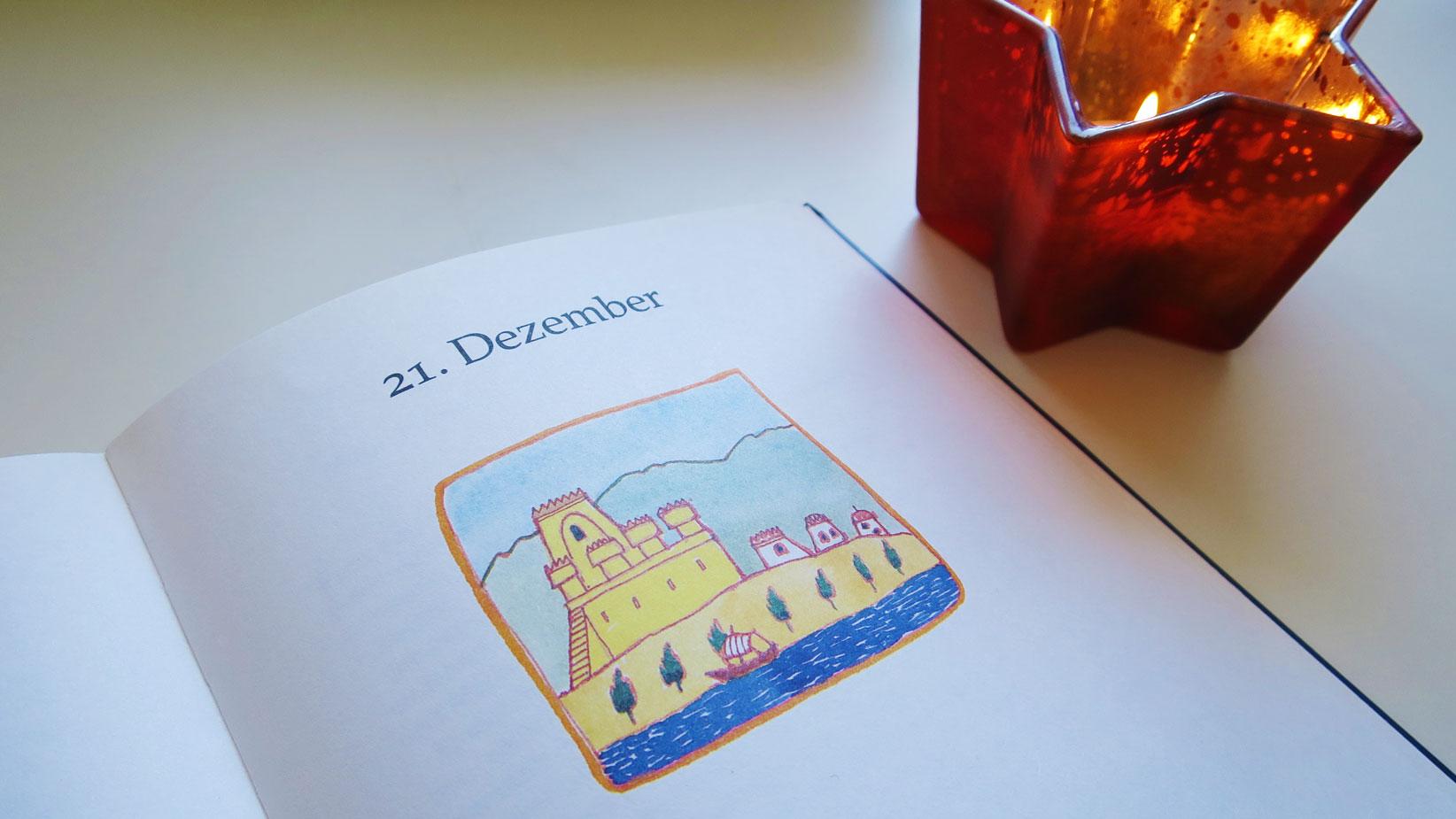 Herzenswelten Das Weihnachtsgeheimnis Kerze