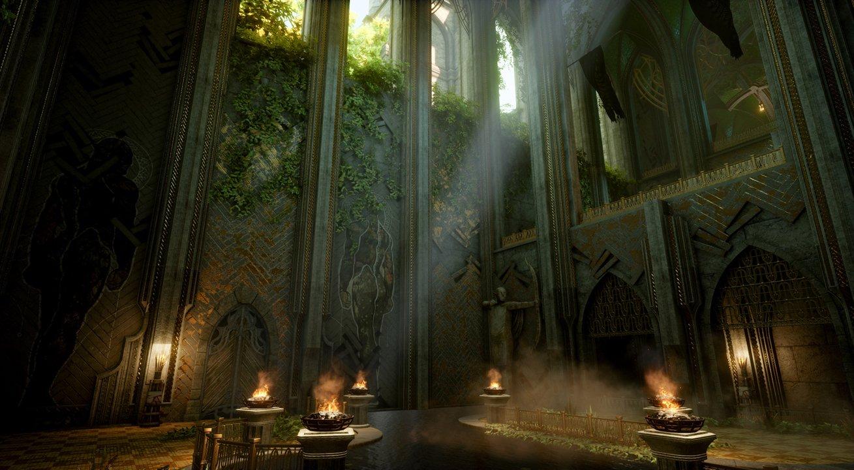 Elfentempel Dragon Age Inquisition Gotik