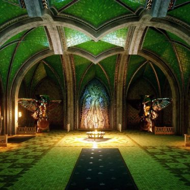Elfentempel Mythal Dragon Age Inquisition Gotik