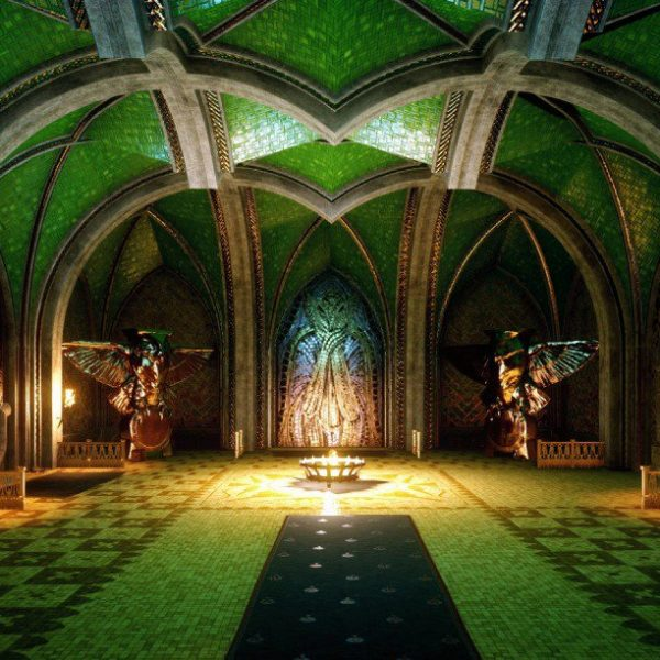 Elfentempel Mythal Dragon Age Inquisition Gotik
