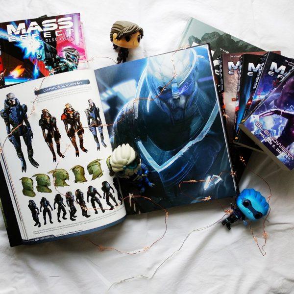 Herzenswelten Garrus Mass Effect Bildbände Funkos