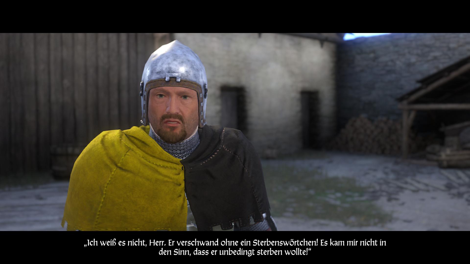 Kingdom Come: Deliverance Bernard