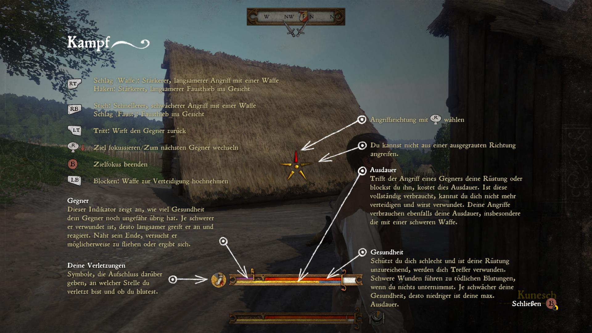 Kingdom Come: Deliverance Kampfsystem