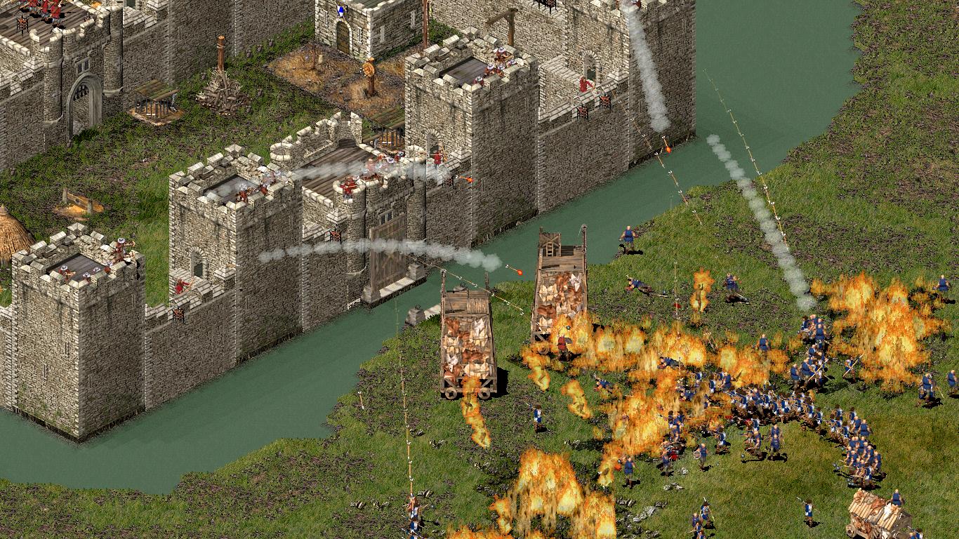 Mein Schönstes Scheitern - Stronghold Belagerung