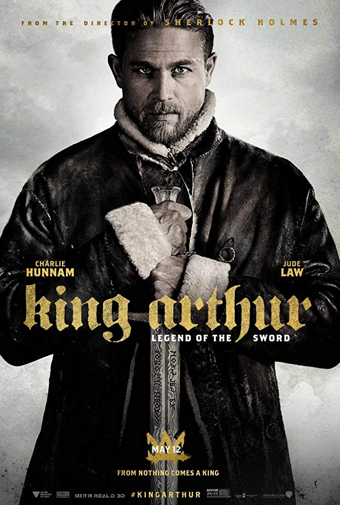 King Arthur Legend of the Sword Filmposter