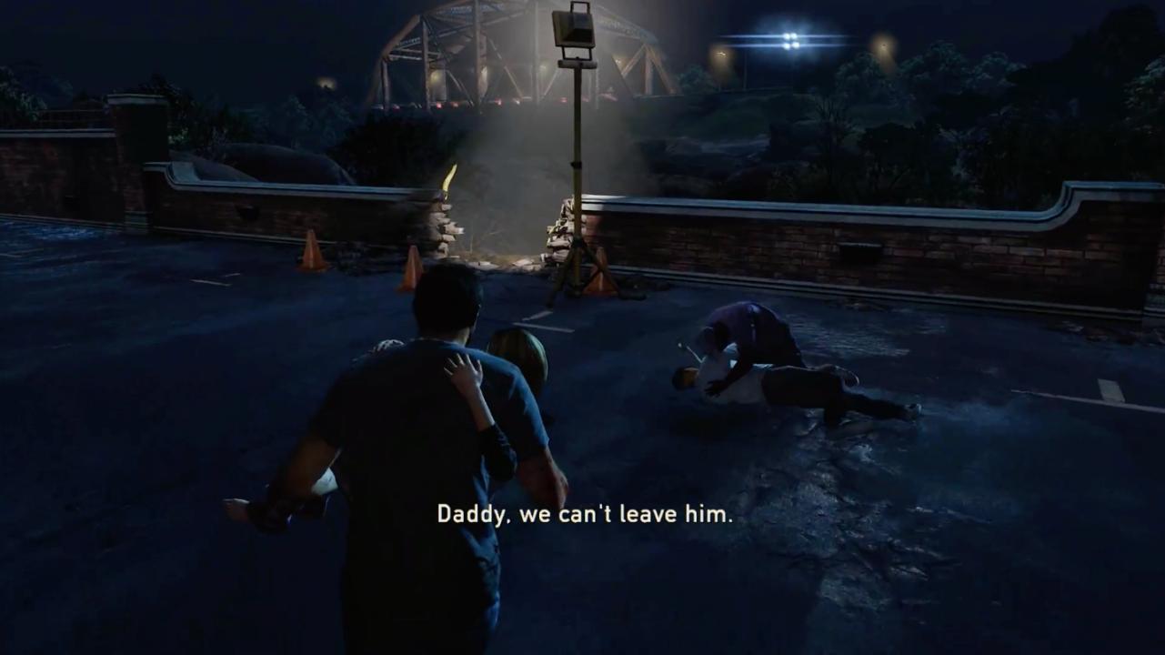 The Last of Us Beispiel Beleuchtung als Wegmarker