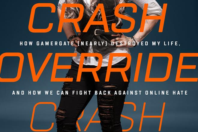 """""""Crash Override"""" von Zoë Quinn Cover"""