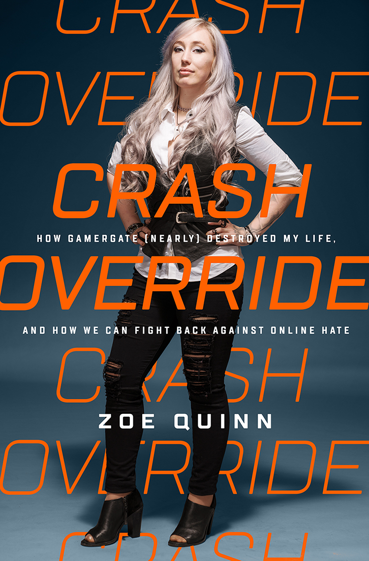 """Crash Override"" von Zoë Quinn Cover"