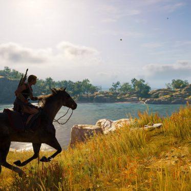 Assassin's Creed Odyssey Kassandra reitet