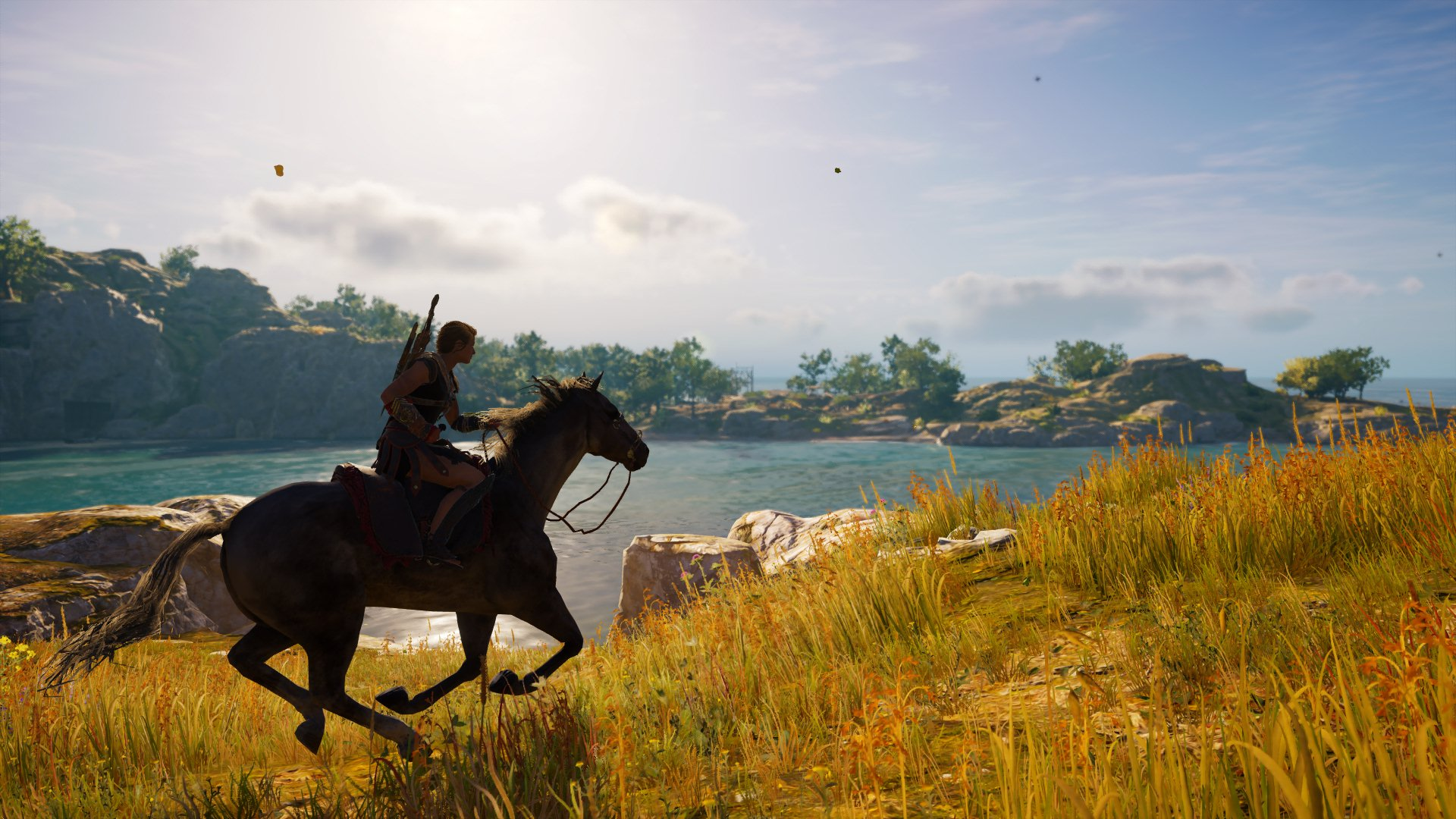 Assassin's Creed Odyssey Kassandra reitet