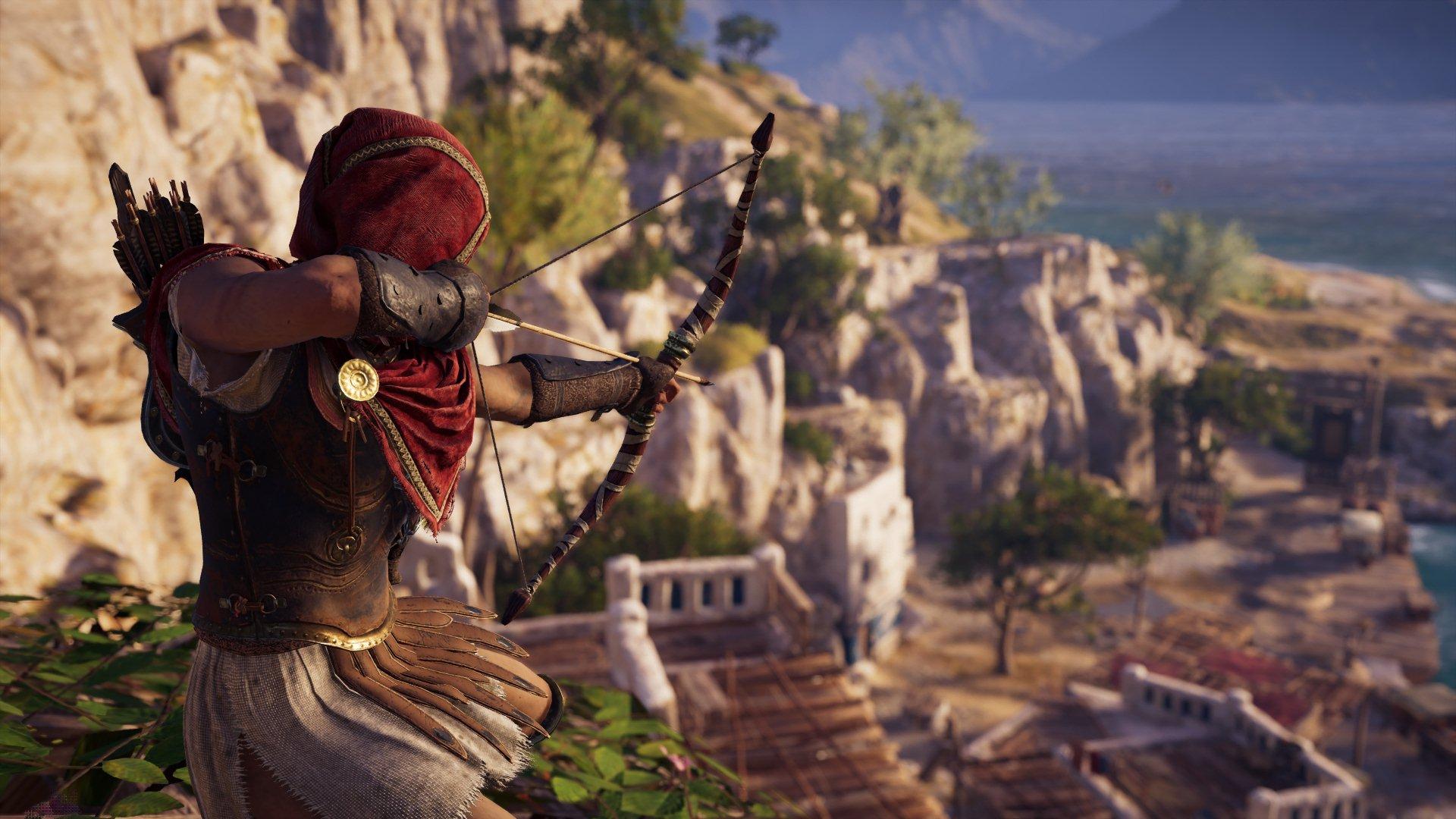 Assassin's Creed Odyssey Kassandra Bogen