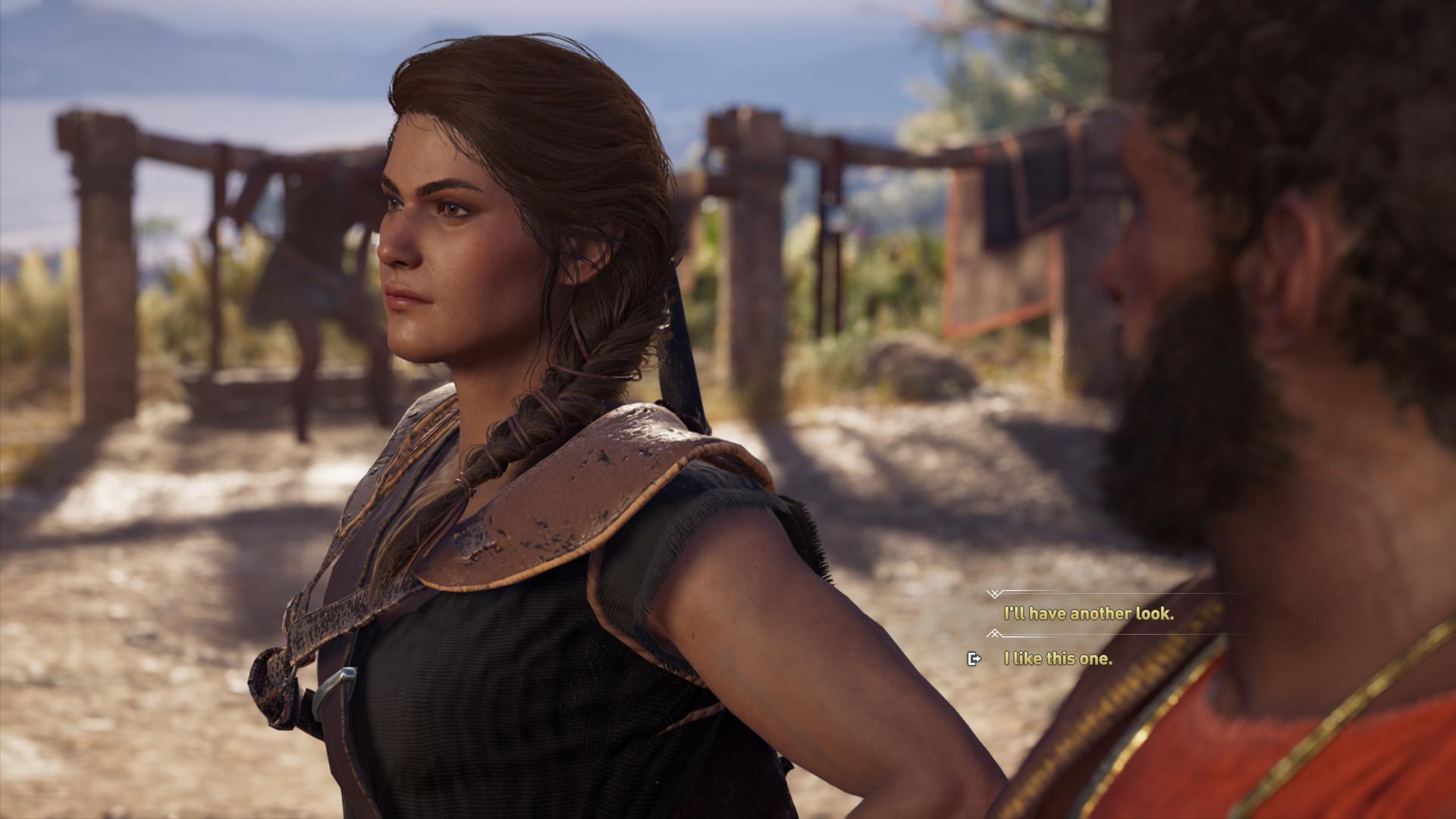 Assassin's Creed Odyssey Kassandra Dialog