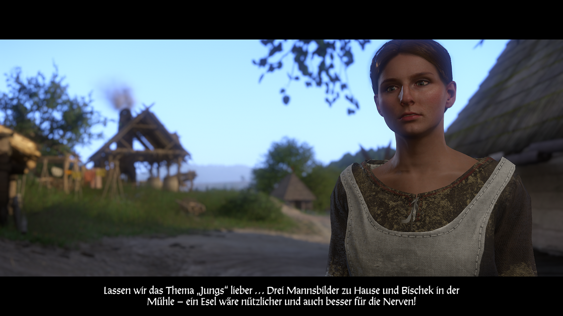 Kingdom Come: Deliverance - Theresa spricht über ihre Love Interests